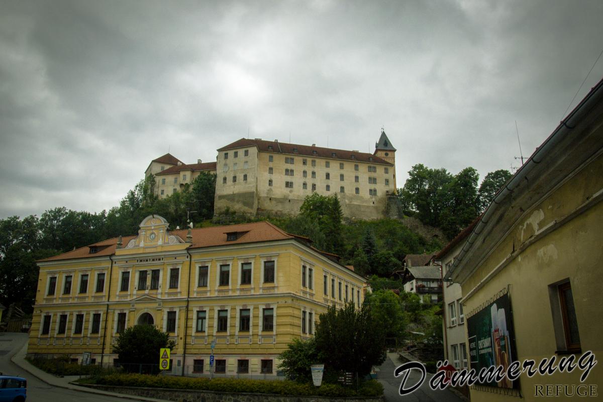 hrad Vimperk